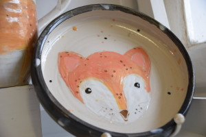 Kinderteller Fuchs